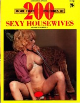 MORE THAN 200 PICS OF SEXY HOUSEWIVES – VOL.4, #4 (Vintage Mag)