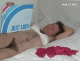 bra on and panties off