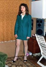 Me as a Secretary in Pantyhose. No Panties