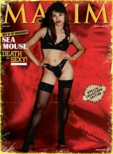 seamouse pinup,and calander magazine cover art