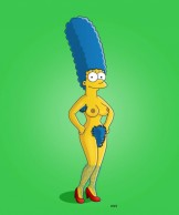 Hairy Marge Simpson