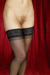 Unknown lingerie pics: stockings, open garters