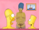 Me as Marge Simpson