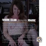 WANK CLUB presents JOANIE BISHOP