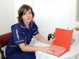 UK nurses uniform strip