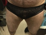 Hairy np cross dresser small uncut