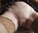 pink panties close up