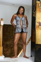 Ebony Felicia has a nice black Bush