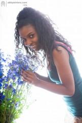 Ebony Esme has a nice Bush