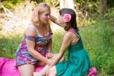 Hairy Lesbians Lulu and Poppy enjoy Bush