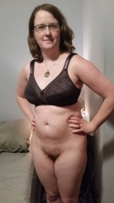 Katie Boren bras and hairy pussy