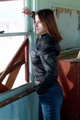 Charisma Cole – Black Leather Jacket