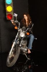Charisma Cole – Black Leather Jacket & Jeans