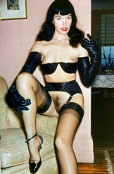 Bettie Page – colour photos
