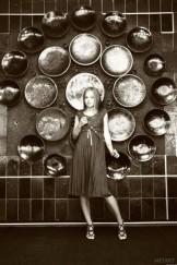 MA – Milena posing in Stockings