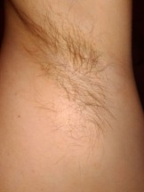 Hairy armpits and dirty feet of my wife
