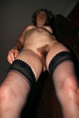 Slut in stockings