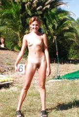 Beach babes with bush