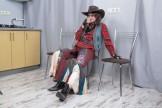 Pique Dame cowgirl.