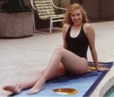 Jeanee Letsinger naked at the Pool