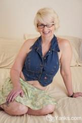 Eden Marie: mature halter blonde
