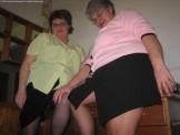 BBW Pantyhose Lesbian Grannys