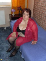 Fat and Ugly Pantyhose Granny