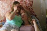 Lovely lesbians Paula and Chloe