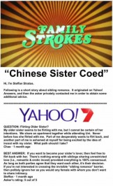 Chinese Sister Coed