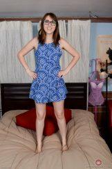NICKEY HUNTSMAN – BLUE DRESS