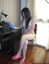 Nude Asian Women in Slippers