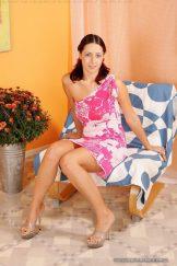 Daria – Pink Flower Dress