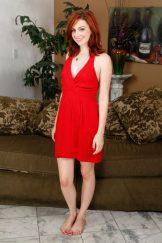 EMMA EVANS – RED DRESS