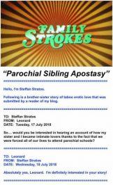 Parochial Sibling Apostasy