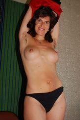 Hairy mature with great nipples – green curtain