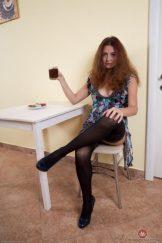 Aunt is Horny: Hairy Coffee Break