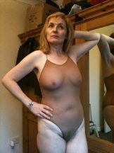Lovely mature lady with nice bush