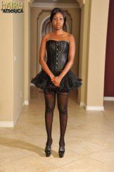 Nina Devon: cute; tight body; hot legs; natural snatch