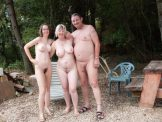 Family – Nudist family