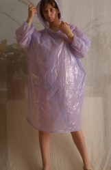 Hairy Teens – ISABEL – Purple Poncho