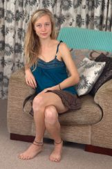Hairy Dirty Blonde Spread – Pink Panties