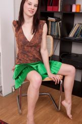 Veronica – Hairy Redheaded teen
