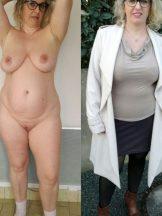 Dressed -nude