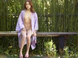 Saki – Nude on a Bench