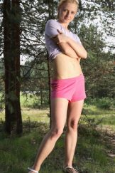 Alexia – Pink Shorts