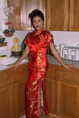Imelda – Red Oriental Dress