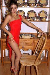 Imelda – Red Cocktail Dress
