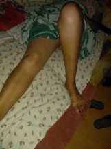 my sleeping wife