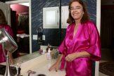 Hairy Granny in the Bathroom