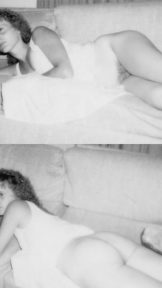 My wife Tammy ~ vintage photos in black and white